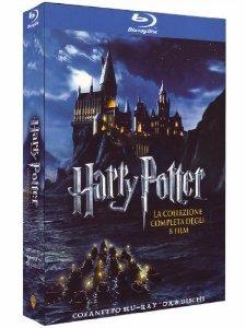 Harry Potter Komplettbox (Blu-ray, 8 Discs) mit dt. Ton @Amazon.it
