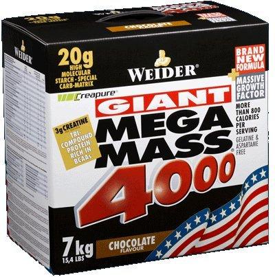 Weider Mega Mass 4000 (7 KG) für 53,99 inkl. Versand