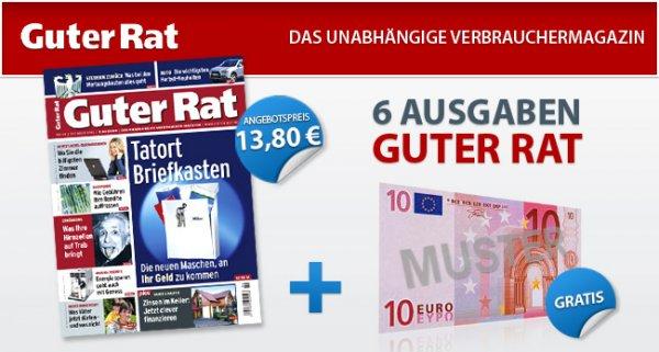 Abo: Guter Rat – 7 Ausgaben für effektiv nur 3,80€