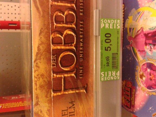 Rossmann (Offline) Der Hobbit - Eine unerwartete Reise - Brettspiel (Kosmos) für 5€