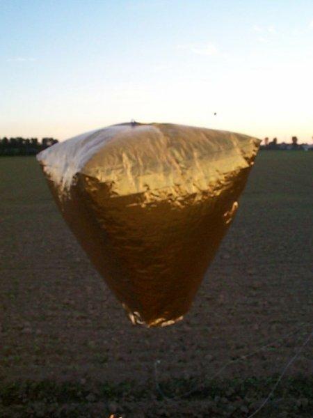 Modellbausatz Heißluftballon Nutzlast bis 150g