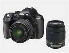 "[Media Markt] PENTAX K 500 SLR 18-55mm + 50-200mm 16MP 3"" Display Bildstabilisator incl.Versand"
