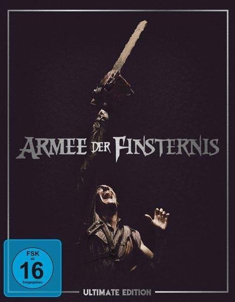 Armee der Finsternis (1. Auflage) Ultimate Edition [Blu-ray] für 28 € inkl. Vsk.