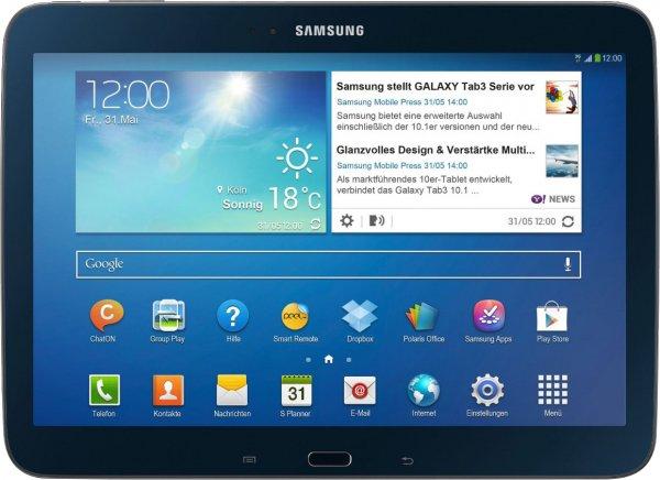 Samsung Tab 3 10.1 3G + Vodafone Mobile Internet Flat 21,6 für junge Leute für 11,99 € pro Monat