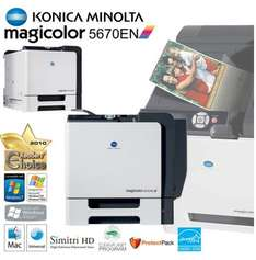 [ibood] Konica Minolta Magicolor 5670EN High Performance A4 Farb-Laser-Drucker