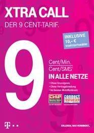 3x Xtra Karten mit 10€ + 9€ Guthaben für jeweils 3€ @ebay