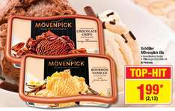 Schöller Mövenpick Eis 2,13 € @ Metro