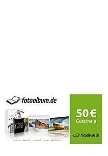Fotoalbum.de - 25€ Gutschein für 14,90 oder 50€ für 29,90 + keine VSK!
