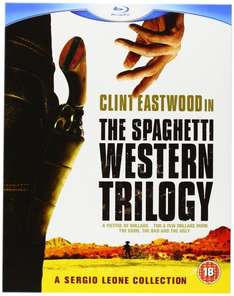 Sergio Leone / Clint Eastwood Spaghetti Western Collection 3 BluRay [amazon.co.uk] (fast) nur Englisch 14,81€