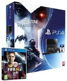 Sony PlayStation 4 Mega Pack (inkl. Killzone und Fifa 14)
