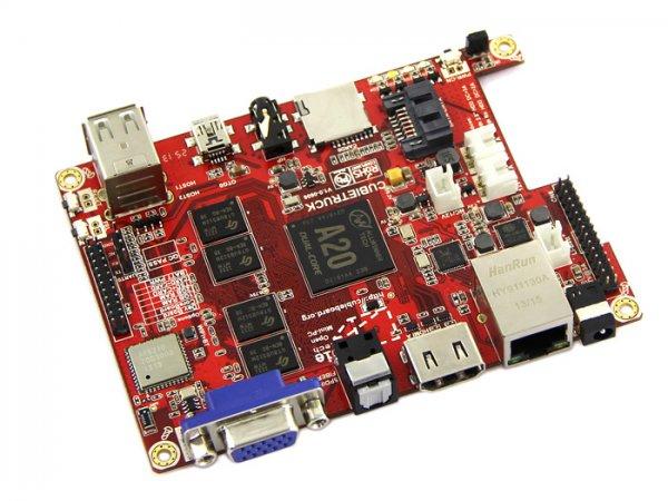Cubieboard 3 Cubietruck über Aliexpress 47,93$   (cirka 35,00€)   Raspberry Pi