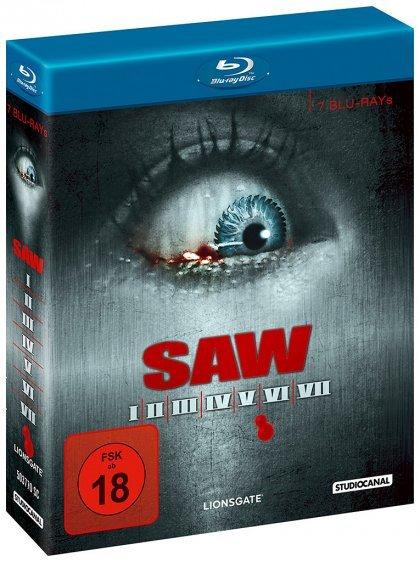 SAW I-VII - Collector's Edition (Blu-ray) für 29,60€ @Media Dealer