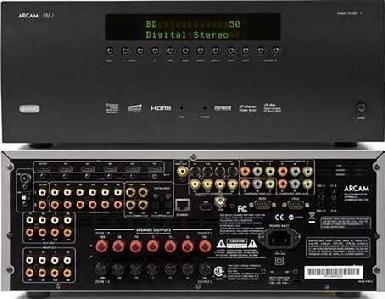 Arcam AVR400 7.1-AV-Receiver mit Netzwerk und Co. für 999,- statt 1499,-