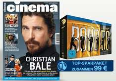 Cinema Jahresabo + James Bond Jubiläums-Collection für 99€