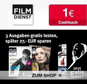 3 Ausgaben Filmdienst Gratis + 1€ Cashback von Qipu