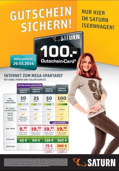 Saturn Isernhagen A2 Center - Kabel Deutschland Sonderaktion