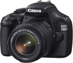 Canon EOS 1100D Kit 18-55 mm  @mediamarkt 239€
