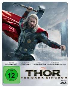 Thor - The Dark Kingdom - Steelbook (inkl. 2D-Blu-ray) [3D Blu-ray] bei Amazon für 23,99 €