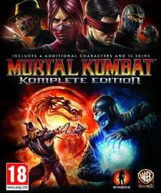 Mortal Kombat Komplete Edition (uncut)  [PC-Steam] update