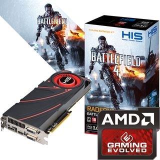 HIS Radeon R9 290X Battlefield 4 Edition mit 4GB Ram für 425,10€