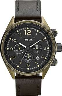 [Amazon.de] Fossil Armbanduhr Quarz Flight CH2783 für 84,79 €