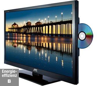"JTC 61cm (24"") LED TV mit integriertem DVD Player für 159,95 EUR"