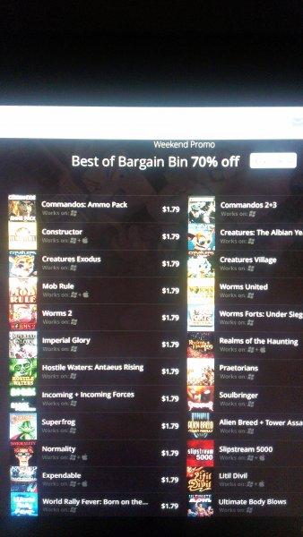 Gog.com sale! Viele Games für 1,79$
