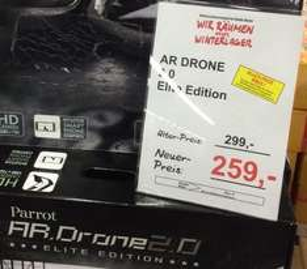 [Lokal Saarbrücken] Parrot Ar Drone 2.0 Elite Edition im Mediamarkt