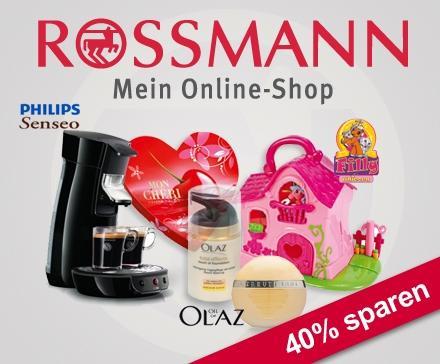 Wieder da: Rossmann Gutschein 25€ für 15€ bei Pro7/Dailydeal