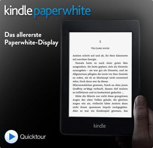 Kindle Paperwhite: Zertifiziert und generalüberholt [Vorgängermodell] direkt von amazon.de