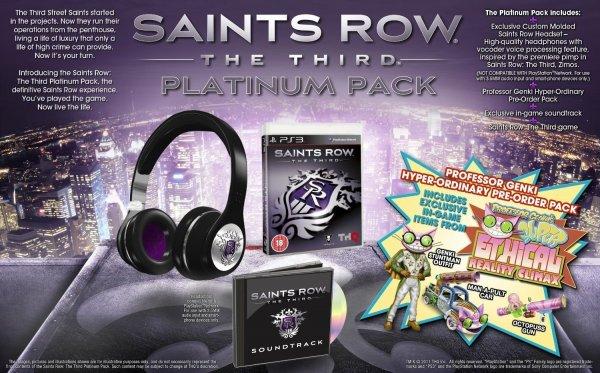 Saints Row The Third: Platinum Pack (PS3) für 25,34€ @ Amazon.co.uk