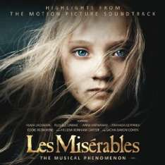 Amazon MP3 Album des Tages : Les Misérables: Highlights From The Motion Picture Soundtrack Nur 3,99 €