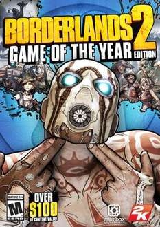 Borderlands 2: Game of the Year Edition [Steam] für 7,24 €