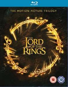 The Lord of the Ring Trilogy [6 Blu-rays] für 15,95€