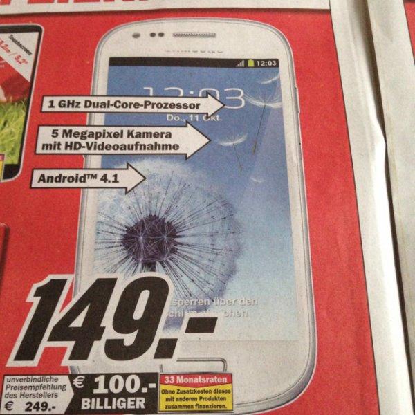 Samsung S3 mini mediamarkt