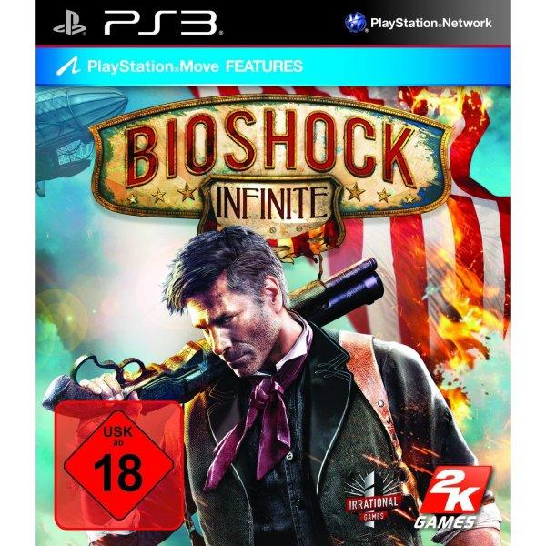 BioShock Infinite (uncut) PS3 für 10€ @ Media Markt