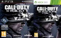 XBox360/PS3 - Call Of Duty: Ghosts für €21,50 [@Zavvi.com]