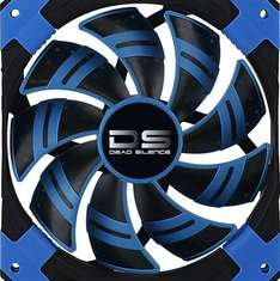 Aerocool Dead Silence Blue Edition 120 @ZackZack - Gehäuselüfter [ LED - mehrere Farben ]