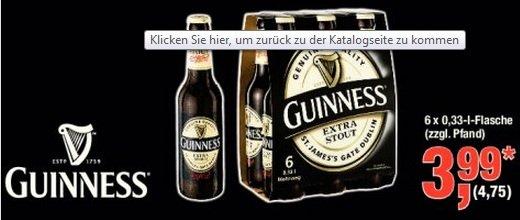 Guinness 6 x 0,33 Liter [Metro]