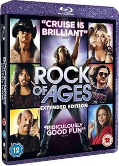 Blu-ray - Rock of Ages (Extended Edition+Ultraviolet Copy) für €5,97 [@Wowhd.co.uk]