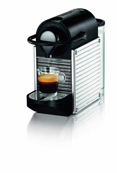 [lokal Segmüller Friedberg/Parsdorf] Krups XN300D Nespresso Pixie Stainless Steel