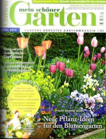 Mein schöner Garten für effektiv 4 €, ggf. 6 € Gewinn