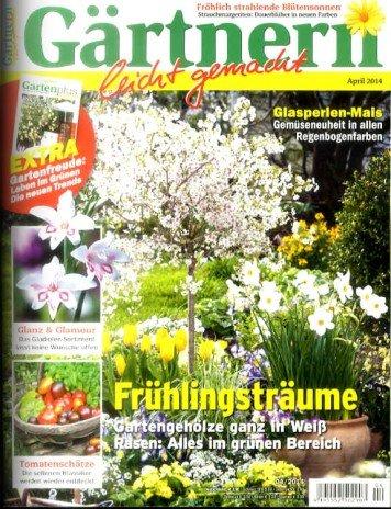 Gärtnern leicht gemacht im Prämienhalbjahresabo, ggf. mit 5,50 € Gewinn