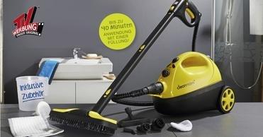 TV Dampfreiniger Cleanmaxx 2652