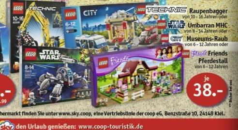[Offline] LEGO Technic / Star Wars / City / Friends Artikel in den Sky Märkten (Coop) zu Tiefstpreisen!