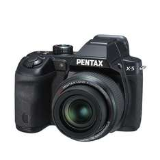 Pentax X-5 All-in-One Digitalkamera (16 Megapixel, 26-fach opt. Zoom, 7,6 cm (3 Zoll) Display, Full HD) schwarz für 155€ @Amazon.uk