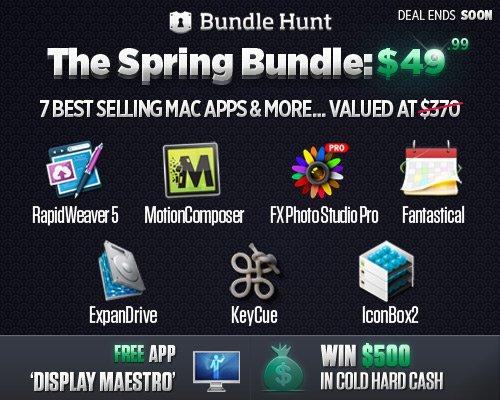 25% sparen! Preissenkung beim Productivity Mac Bundle mit 10 Apps!