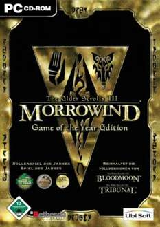STEAM - The Elder Scrolls III: Morrowind® Game of the Year Edition 3,30€ @ Gamersgate