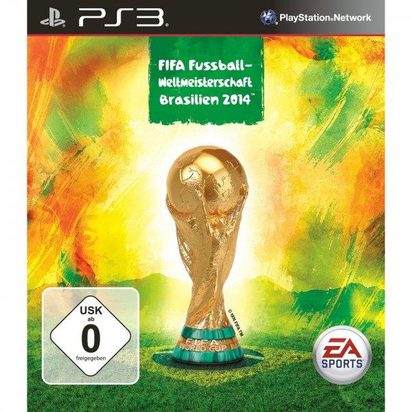 PS3 mit 500GB Kit + Fifa 2014 + FIFA WM Brasilien 2014