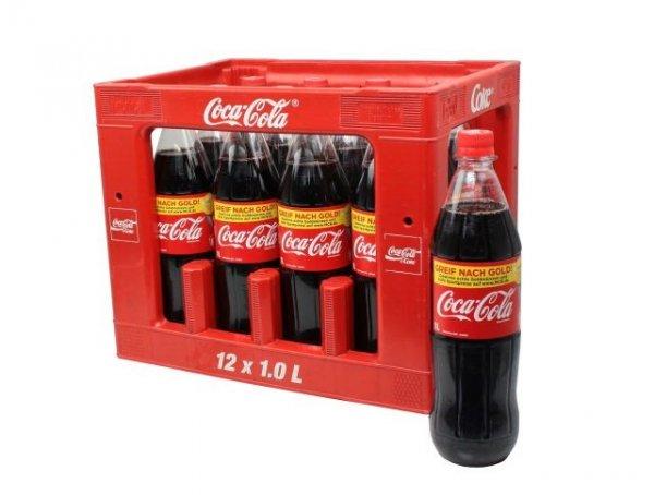[Bundesweit] Coca Cola 12x1Liter + 2 Flaschen Gratis bei Netto ohne Hund